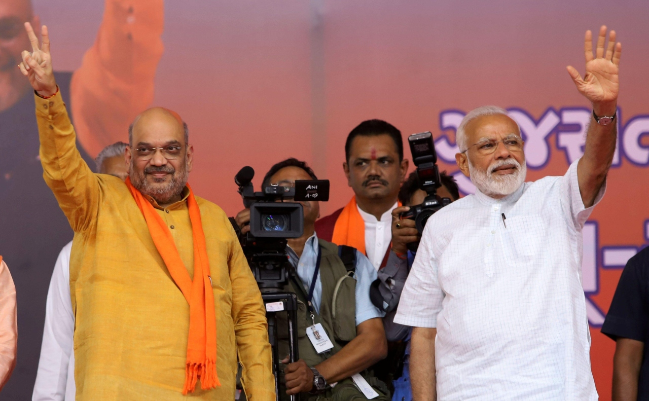 Shah urges people to chant 'Jai Shri Ram' so loudly to be heard in West Bengal