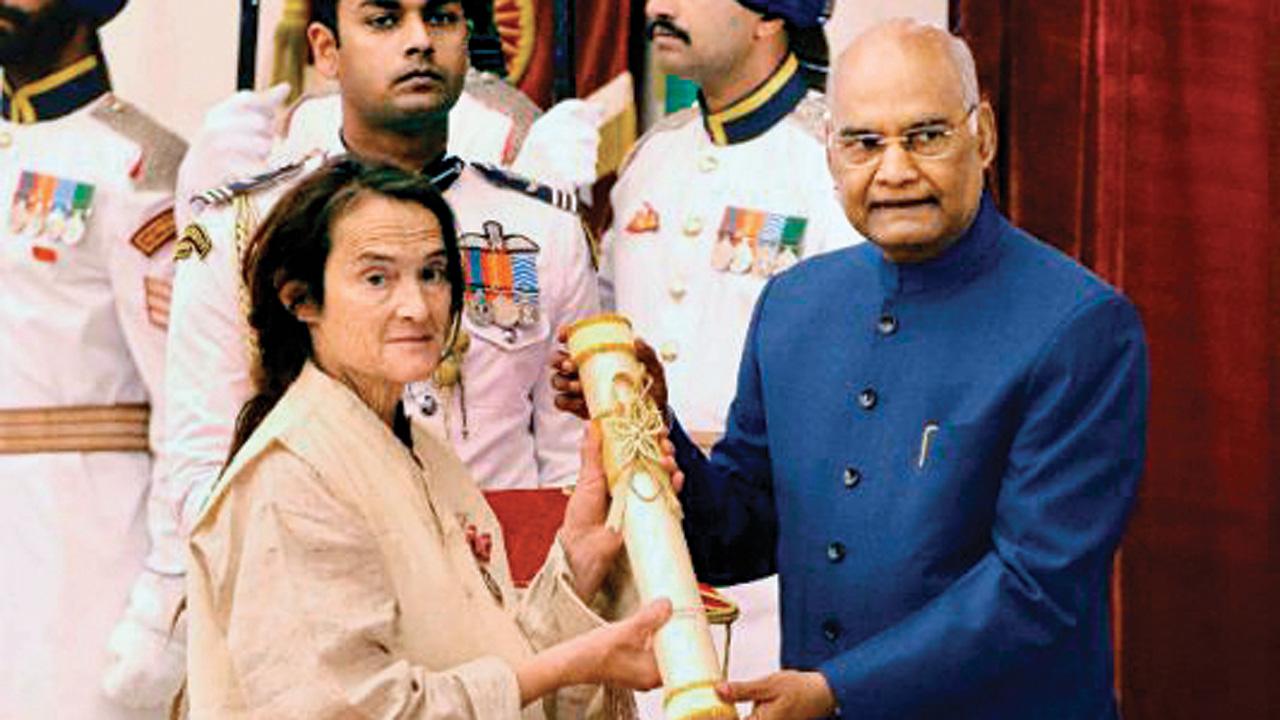 Cow carer upset over visa, Sushma Swaraj steps in
