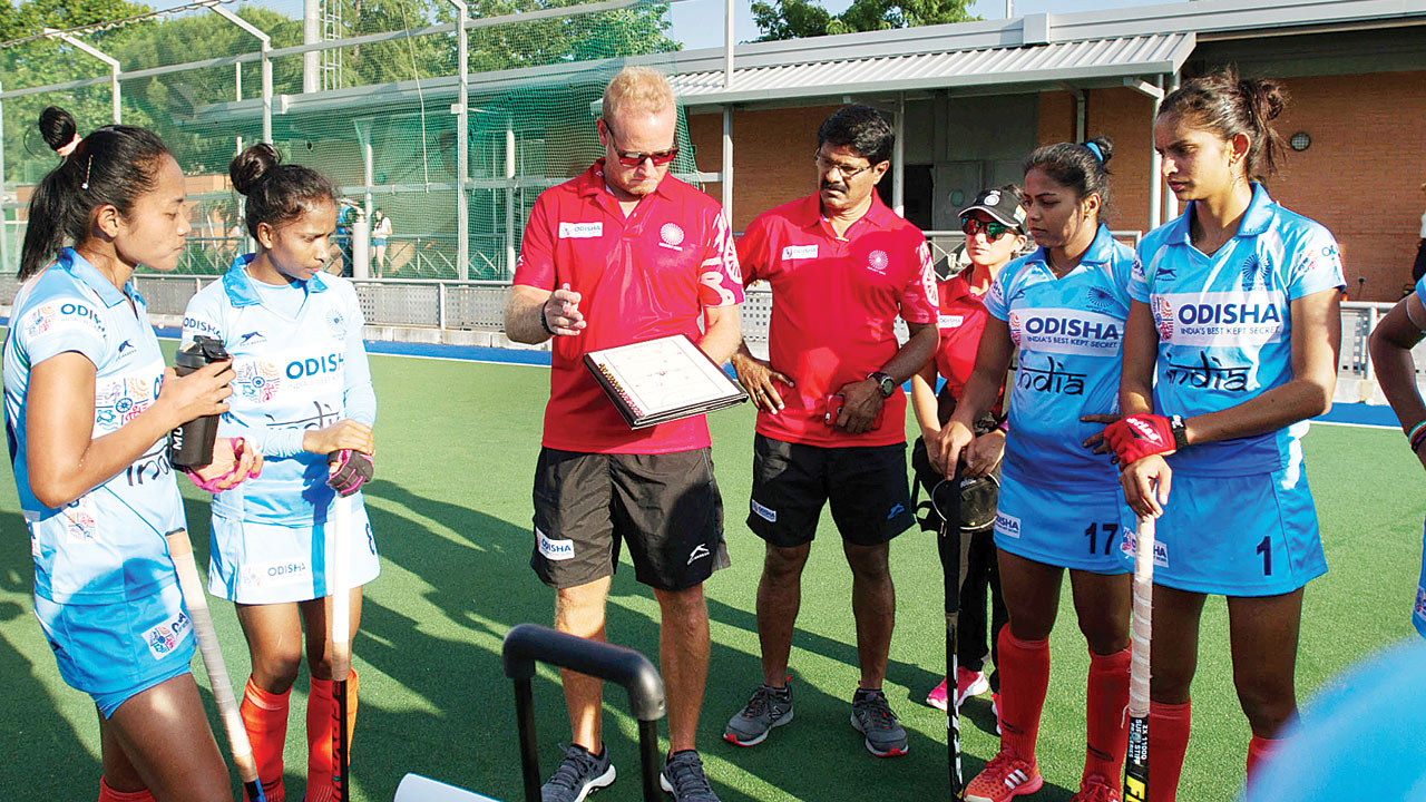 Indian women's hockey team on 'Mission 500' in Hiroshima