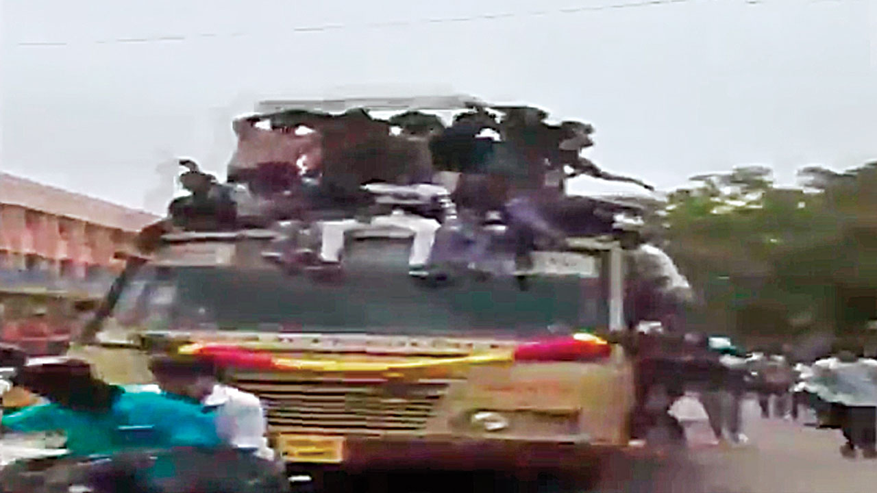 Chennai: Students find new way to have fun on Bus Day