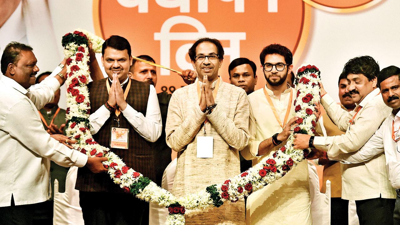 Want equal stake in govt: Shiv Sena chief Uddhav Thackeray