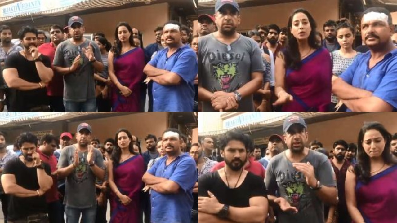 Mahie Gill beaten and assaulted on sets of 'Fixer', Ekta Kapoor and crew refuse to take police help