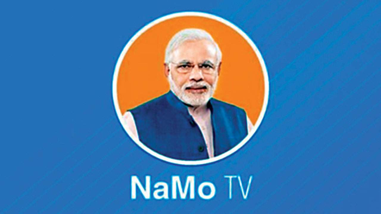 NaMo TV not on I's channels list, it was 'platform service' offered by DTH operators: Govt