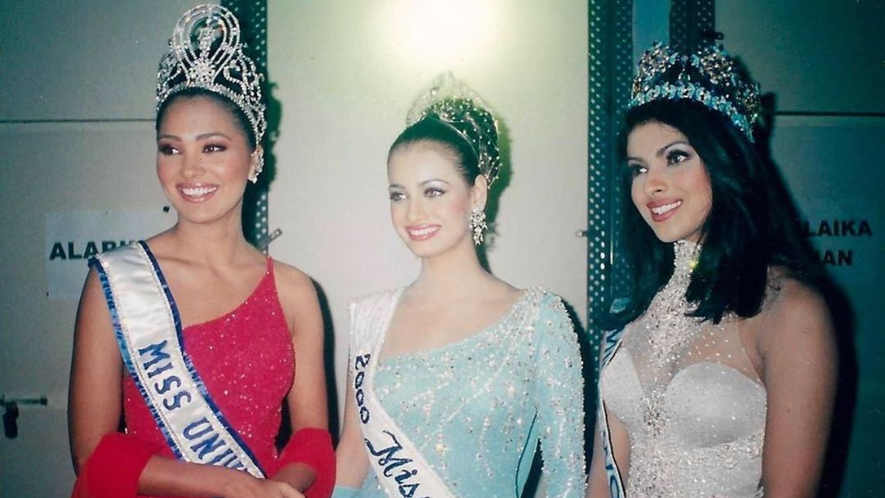 This gorgeous pic of Priyanka Chopra, Lara Dutta, Dia Mirza after being crowned Miss India 2000 will make you nostalgic