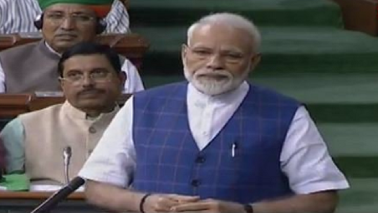 PM Modi replies to motion of thanks on President's Address in Lok Sabha