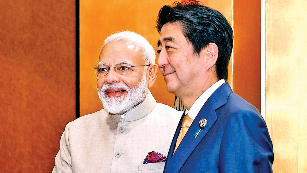 After 'monkey' business, PM Narendra Modi, Shinzo Abe review joint jobs in India