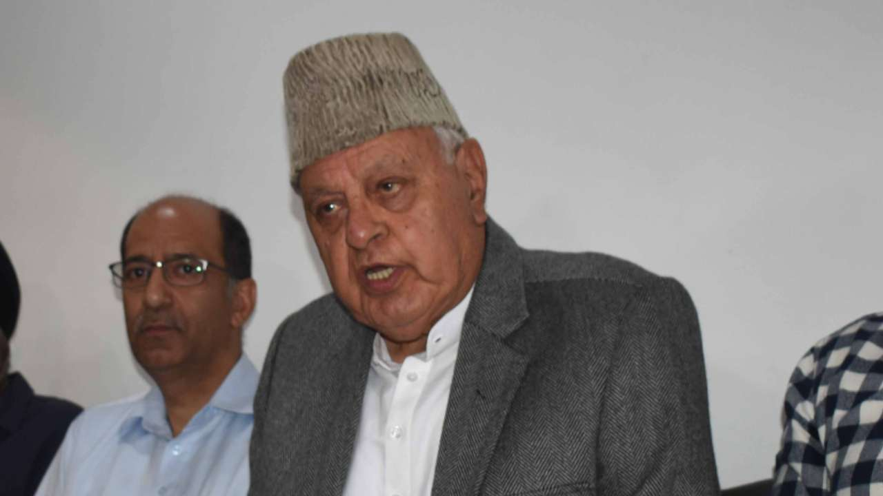 Watch: If Article 370 is temporary, so is J's accession to India, says Farooq Abdullah