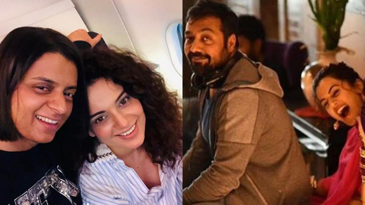 Rangoli Chandel has slow claps for Anurag Kashap and 'Kangana Ranaut's Sasti Copy' Taapsee Pannu's 'double standards'