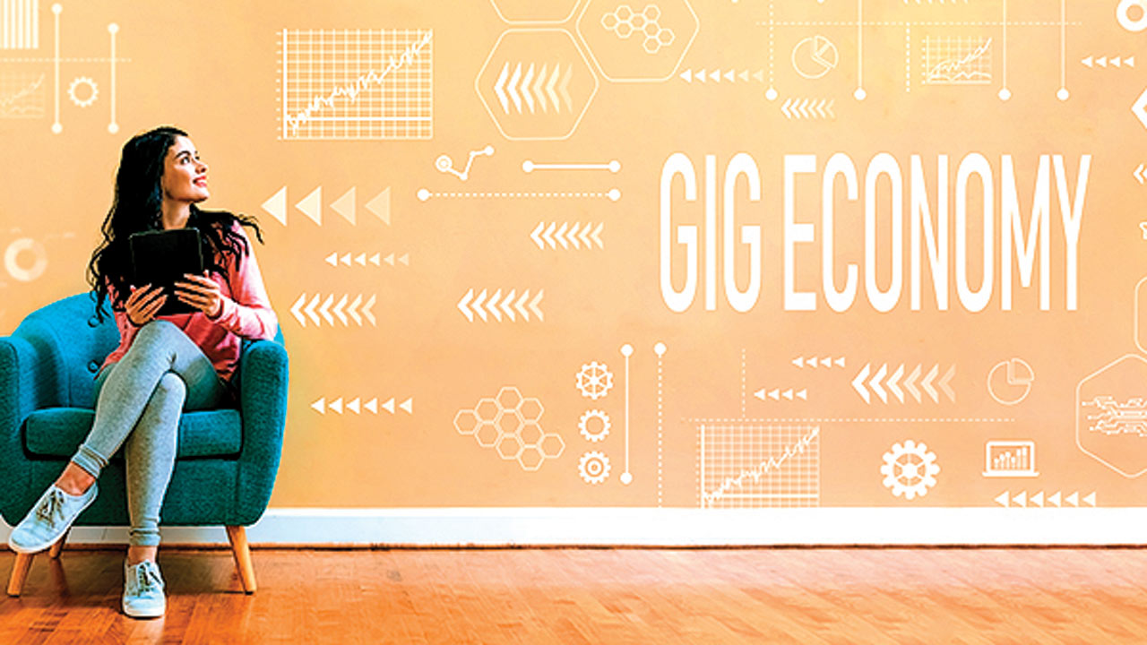 The gig economy is well and truly here to stay
