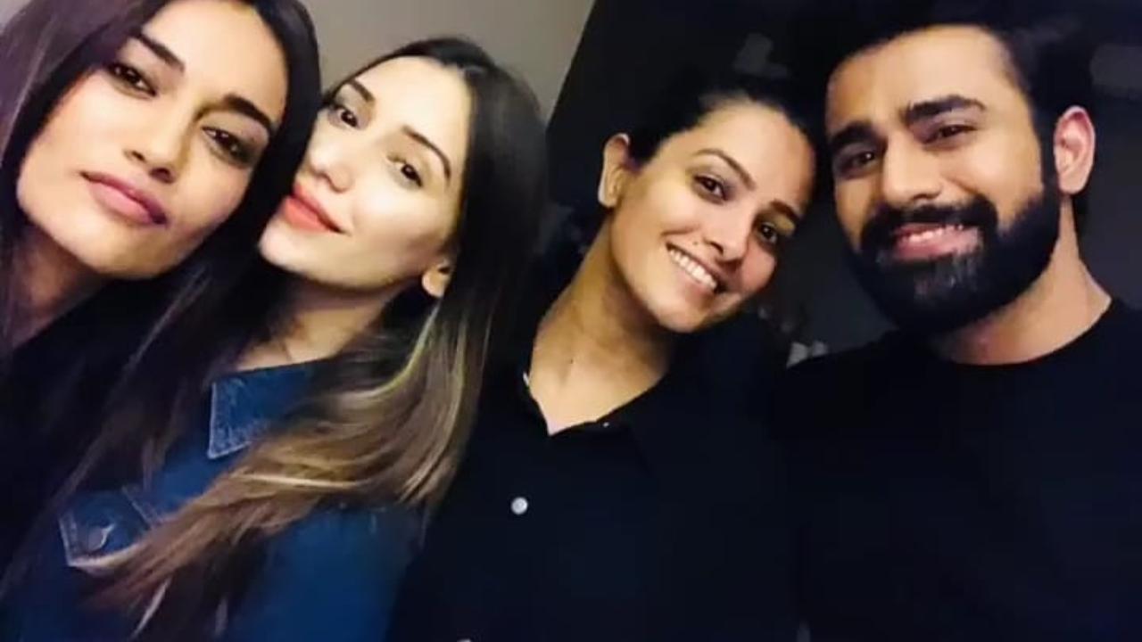 Pics and videos: Pearl V Puri celebrates rocking birthday with 'Naagin 3' co-stars Surbhi Jyoti-Anita Hassanandani