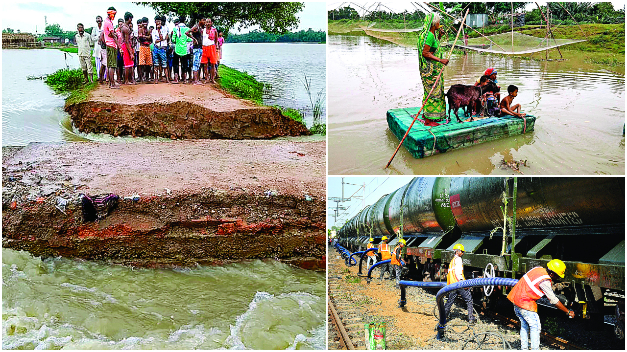 As Chennai remains parched, floods wreak havoc in the east