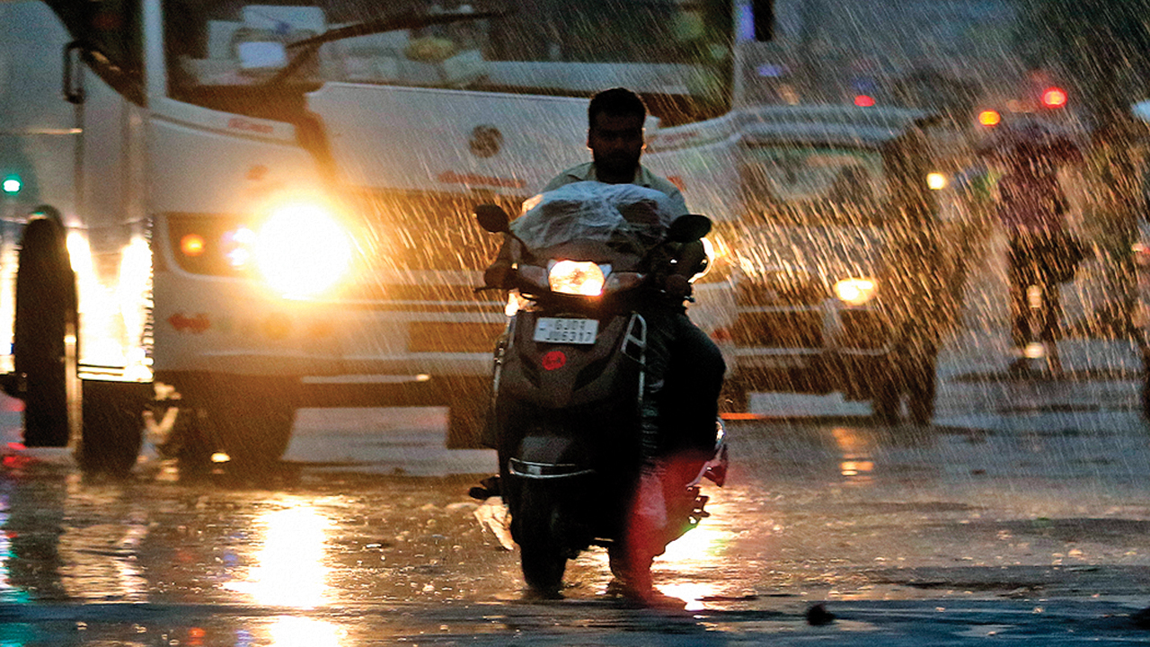City to stay rainless till mid-week