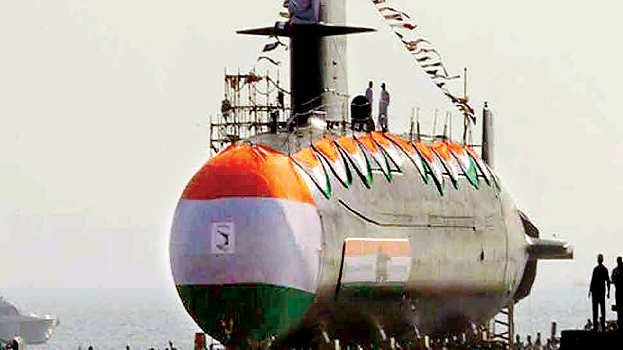 Defence Ministry issues Rs 2000 cr tender for heavyweight submarine torpedoes