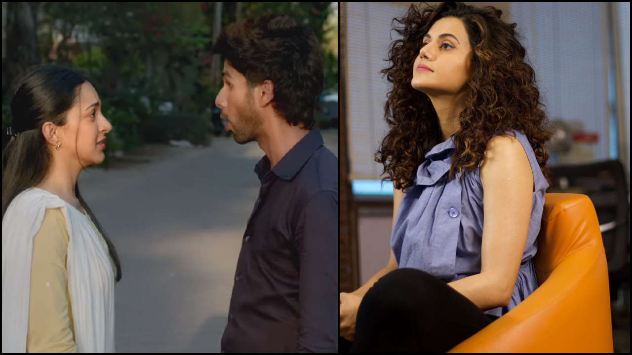 Misogynists who didn't see a problem with 'Kabir Singh' booed at Rumi from 'Manmarziyaan', says Taapsee Pannu