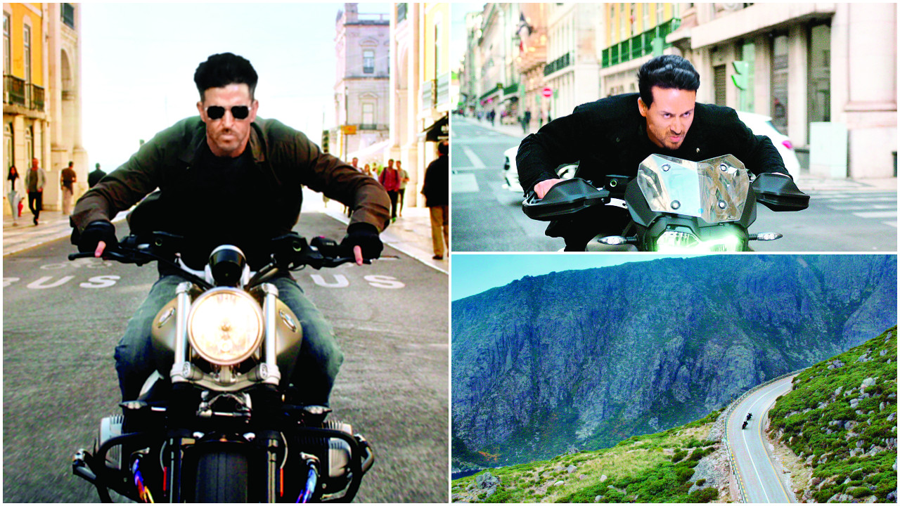 WAR: Hrithik Roshan-Tiger Shroff shoot dangerous high-speed bike chase sequence on highest Portuguese peak