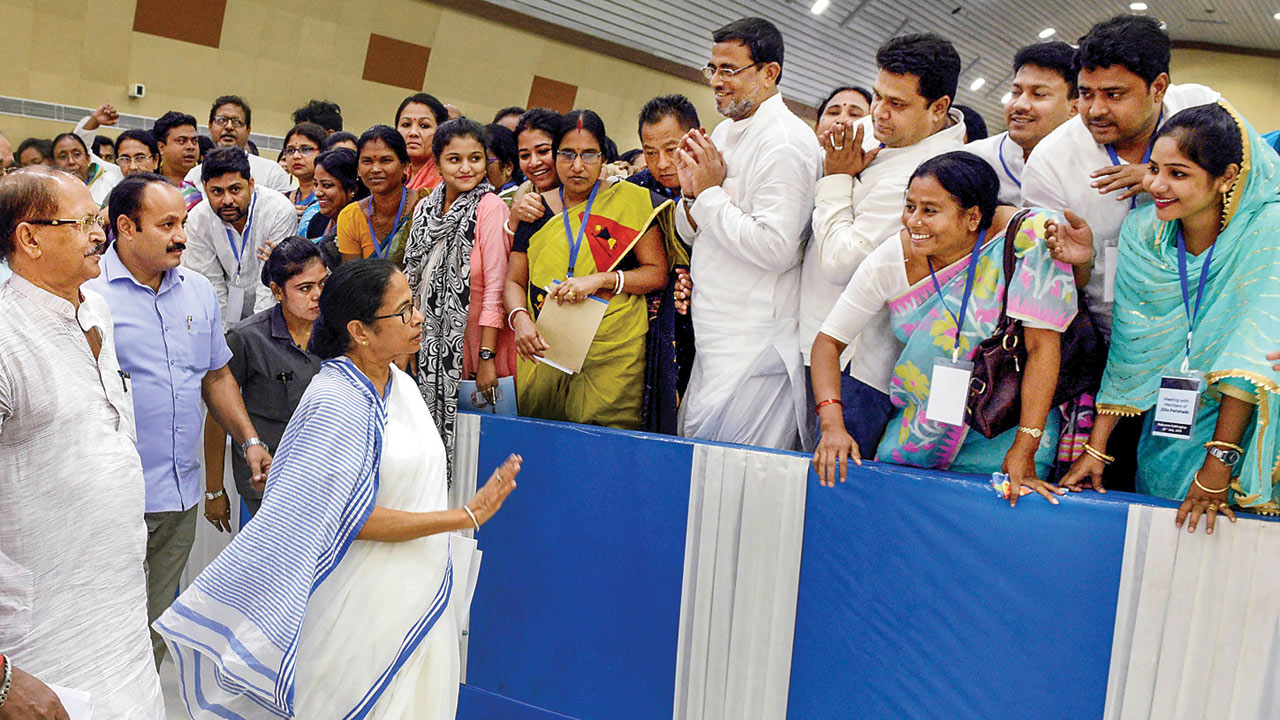 Mamata Banerjee defames TMC leaders to save chair: BJP