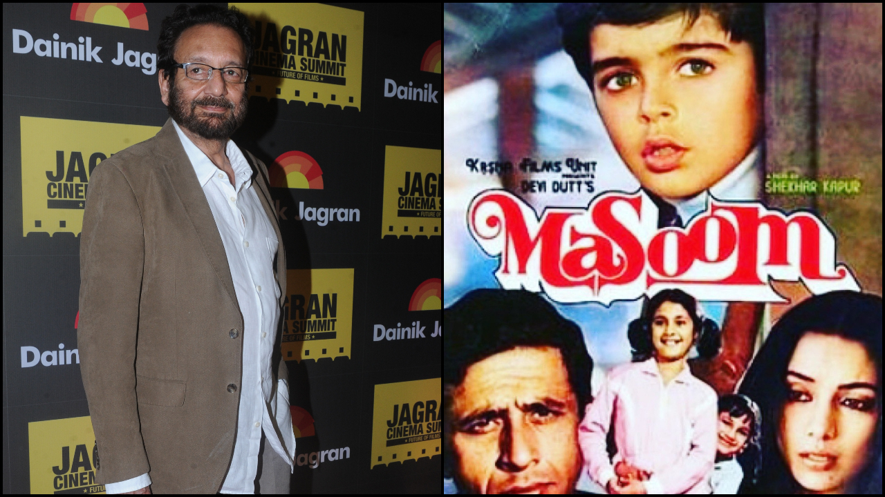 'Masoom' was a scene by scene rip off of Erich Segal's 'Man, Woman & Child': Twitteratti slam filmmaker Shekhar Kapur