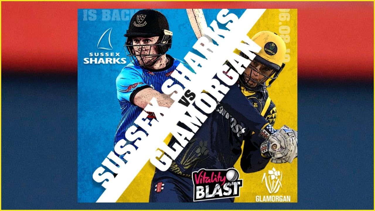 Sussex vs Glamorgan Dream11 Prediction: Best picks for SUS vs GLA today in Vitality T20 Blast 2019