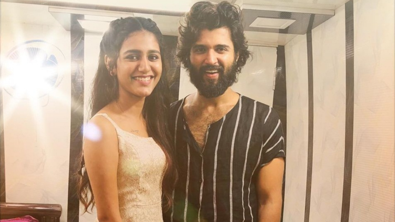 Fangirl Priya Prakash Varrier is in awe of 'Dear Comrade' star Vijay Deverakonda and her caption says it all