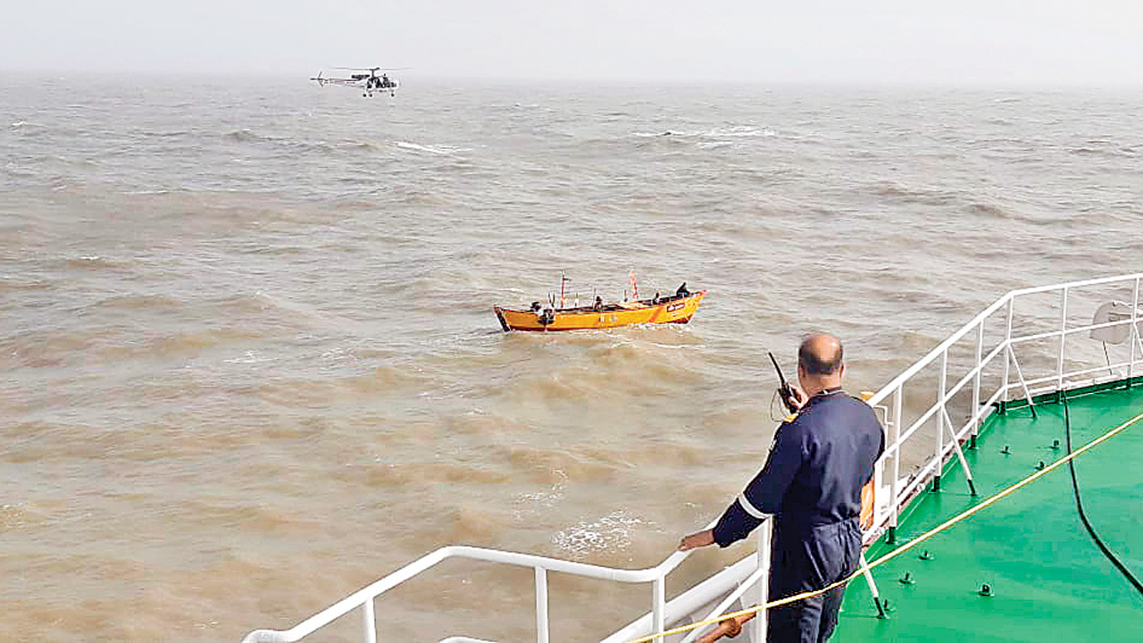 Gujarat: Indian Coast Guard rescues 79 fishermen; recovers six bodies