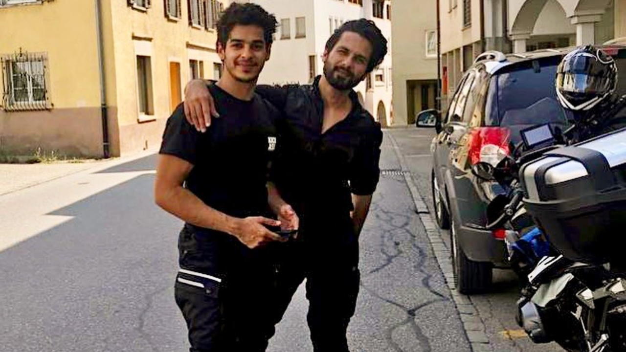 Ishaan Khatter's lit photos with 'bhaijaan' Shahid Kapoor will make you take the bike trip over the weekend