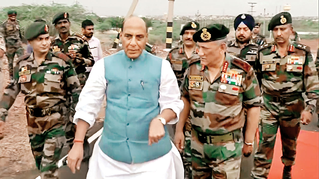 Future will guide India's nuclear policy: Defence Minister Rajnath Singh