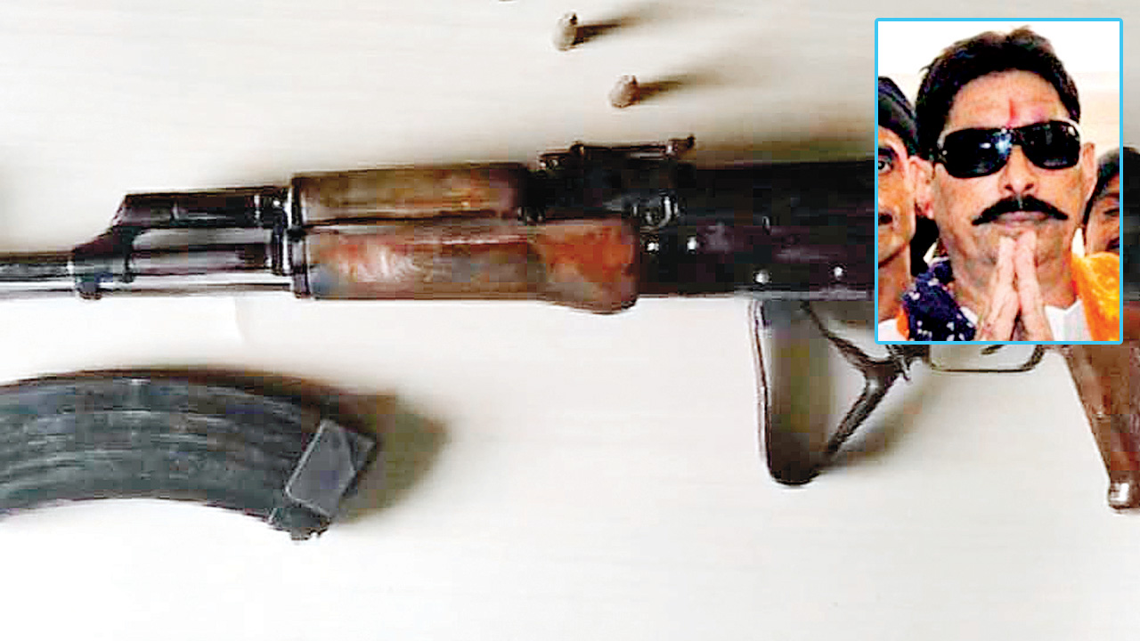 AK-47 rifle, live bullets seized from Bihar MLA Anant Kumar Singh's residence