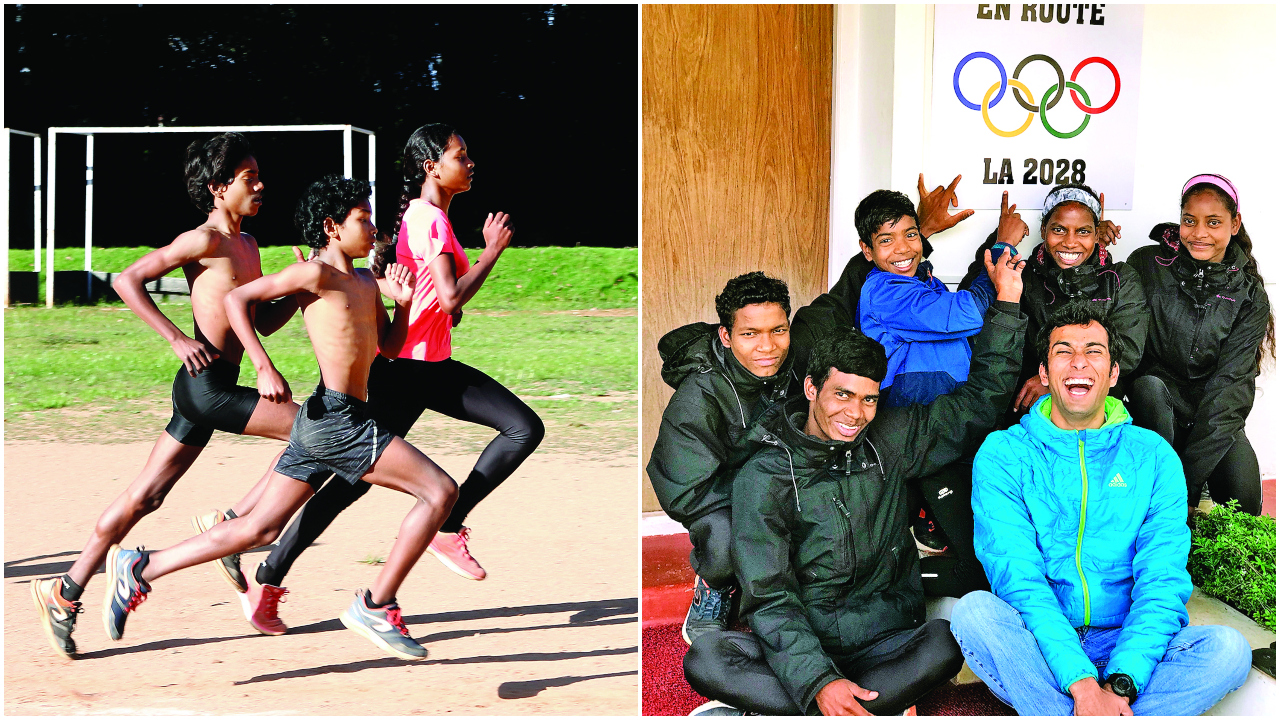 In hilly Ooty, a running mission