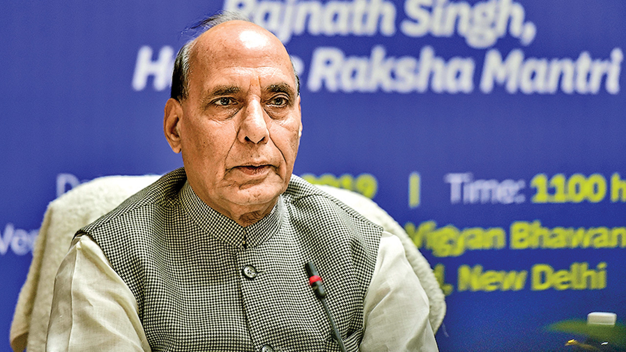Dialogue with Pakistan on PoK only: Defence Minister Rajnath Singh