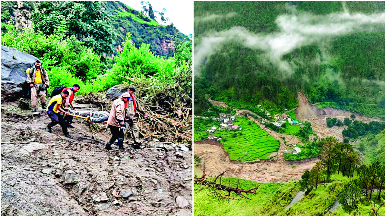Uttarakhand: Five people missing after cloudburst