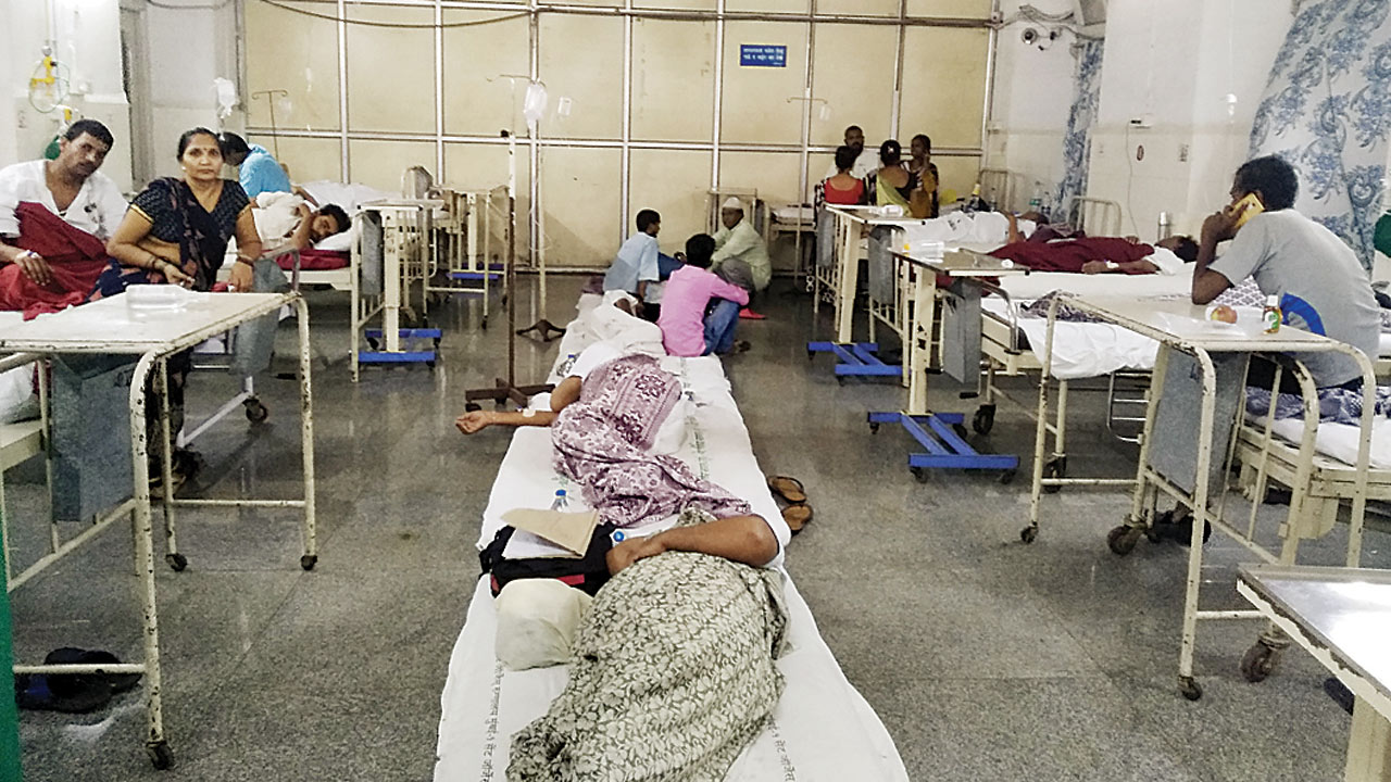 Rain illnesses take a toll on Mumbai hospitals