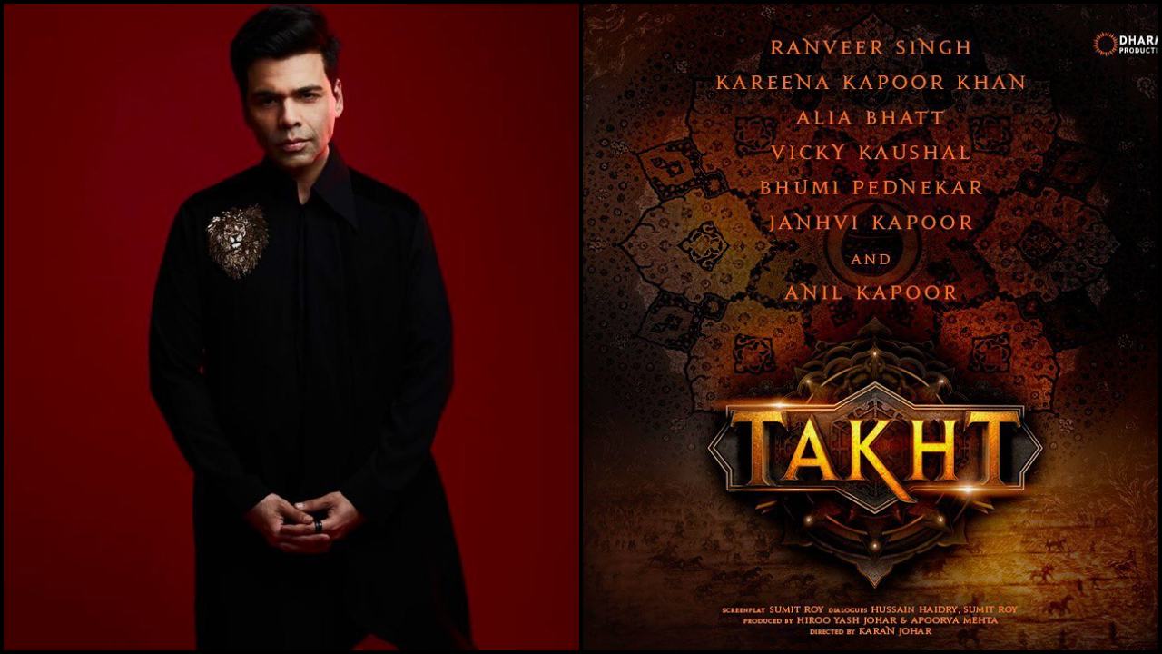 'Takht': Here's how Karan Johar reminded people of the ensemble cast of his upcoming directorial