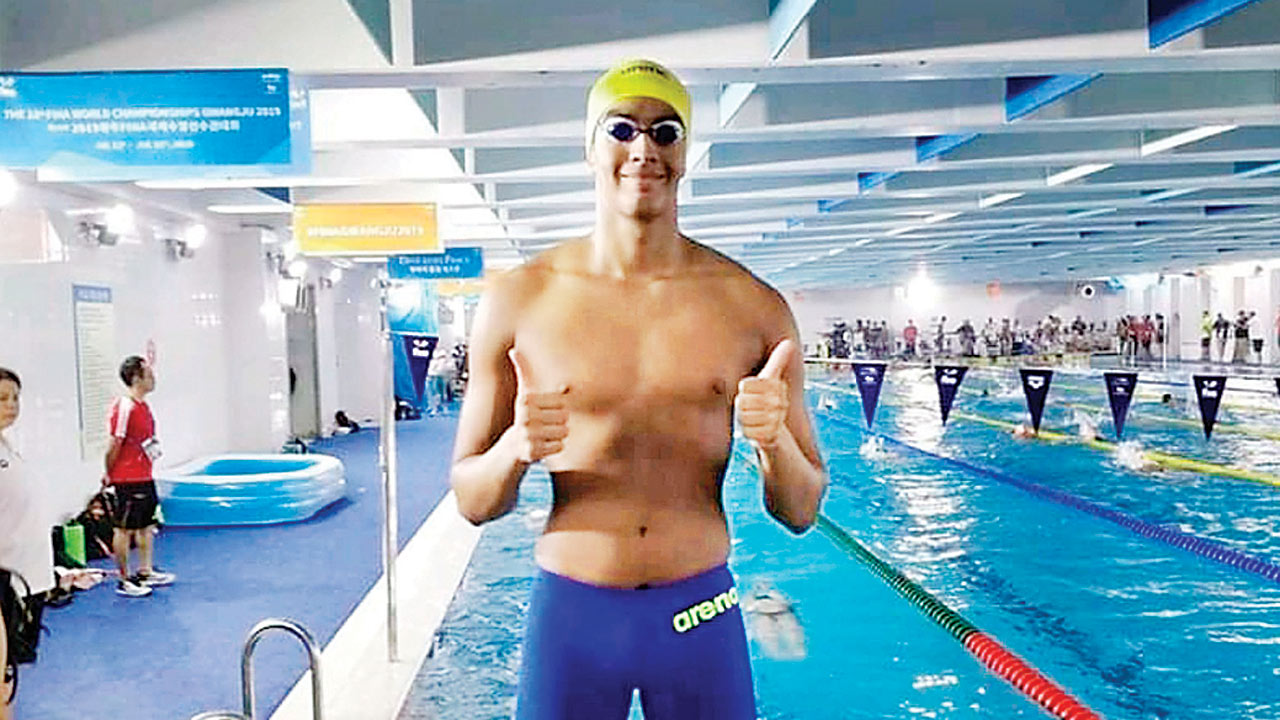 Srihari Nataraj sets National Record in semifinals, finishes 7th in final