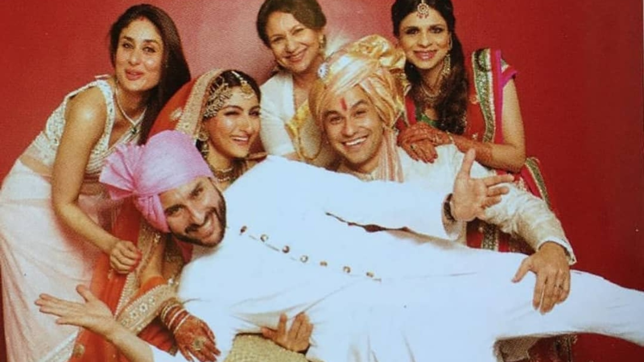 Throwback: Saif Ali Khan and Kareena Kapoor Khan turn goofy in this UNSEEN pic from Soha Ali Khan-Kunal Kemmu's wedding!