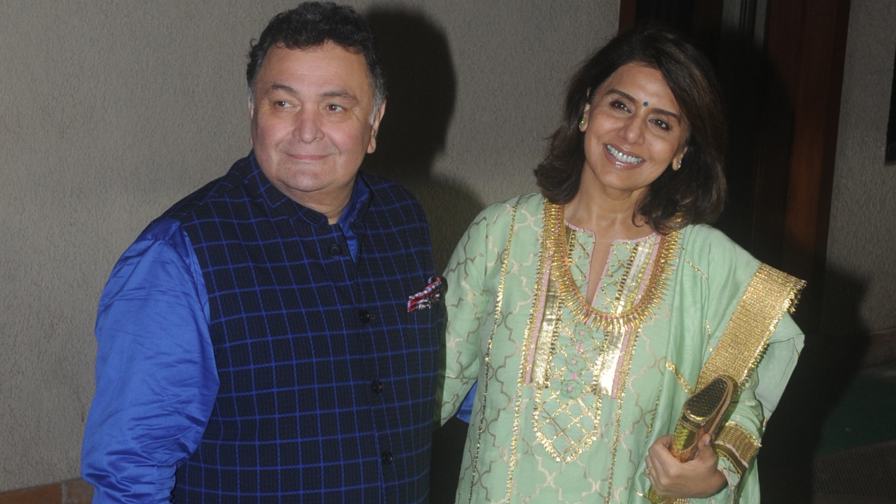 'She has been a rock of Gibraltar': Rishi Kapoor is all praises for wife Neetu Kapoor