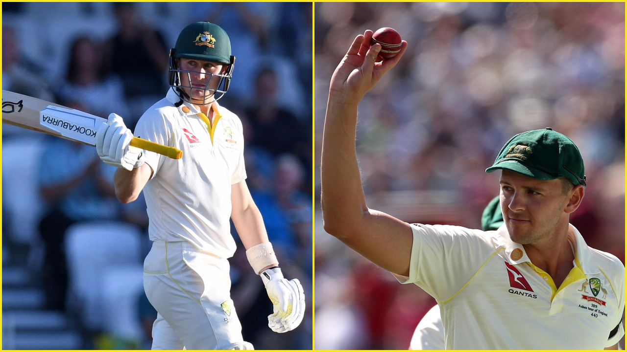 Ashes 2019: Hazlewood and Labuschagne shine as Australia end day two on high