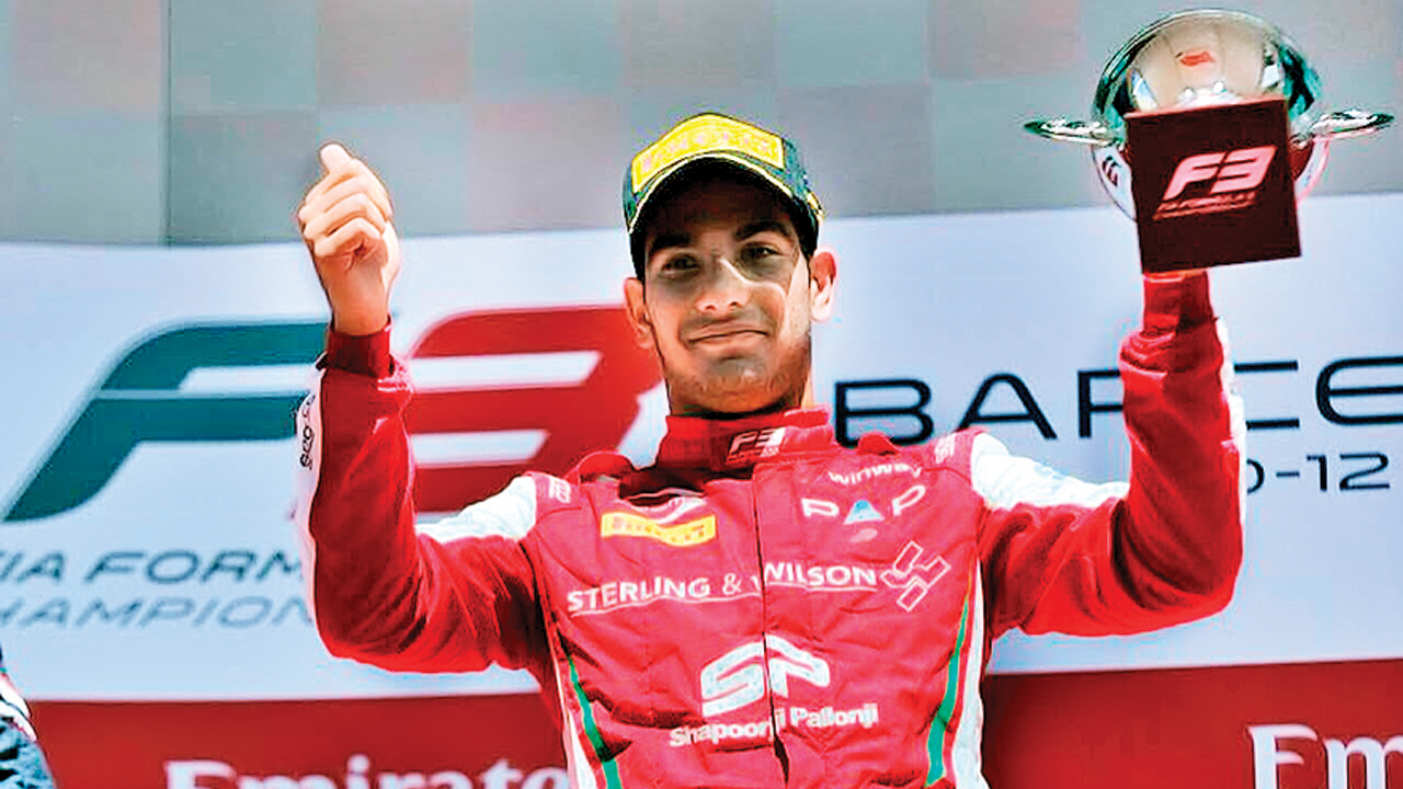 Hopefully, if I make it to F1, it will inspire kids to take up motorsport: Jehan Daruvala