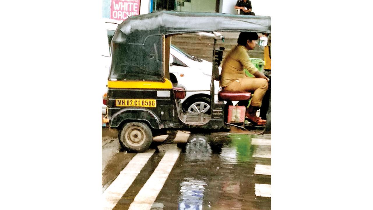Mumbai: FIR against errant auto-rickshaw driver