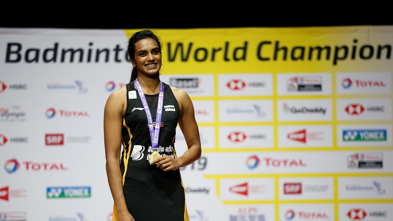 'Proud to be an Indian': PV Sindhu returns home after winning historic gold, receives grand welcome