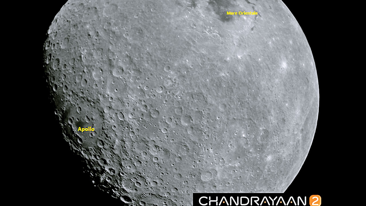 New images by Chandrayaan-2 released