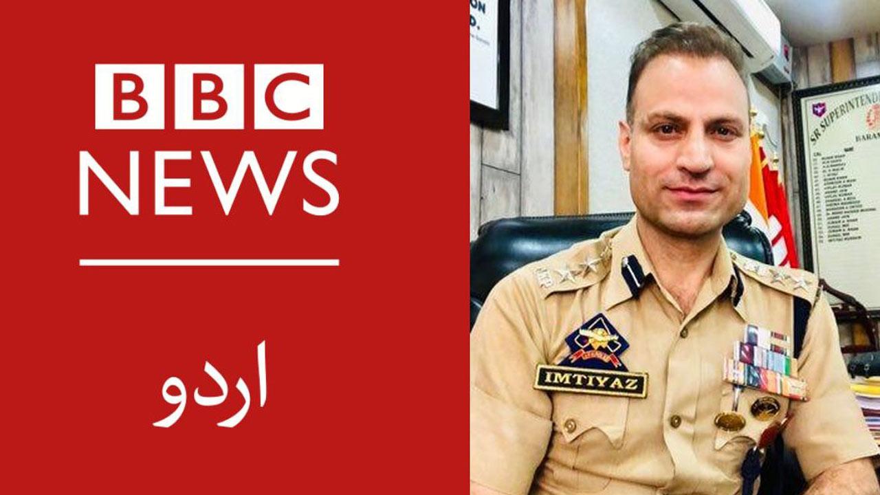 Jammu and Kashmir top cop exposes anti-India narrative of the foreign media