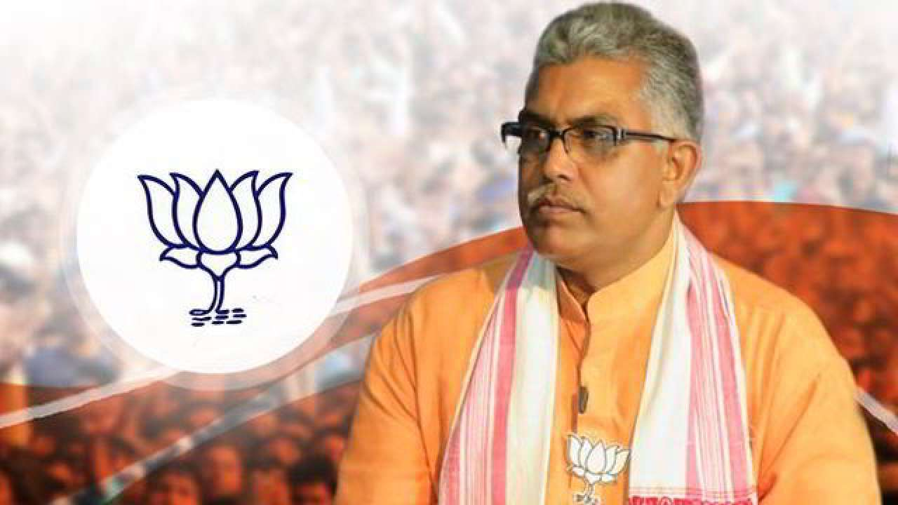 BJP's Bengal chief Dilip Ghosh attacked in Kolkata