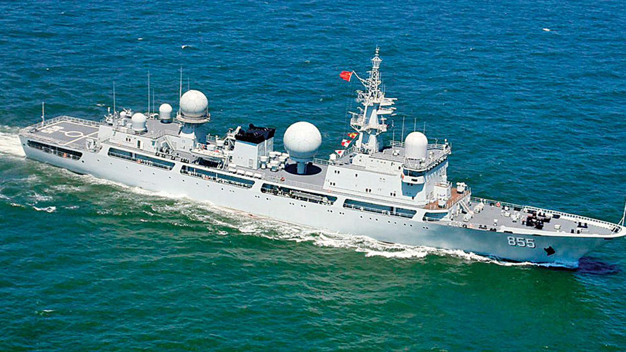 DNA EXCLUSIVE: Chinese ship spied off Andaman