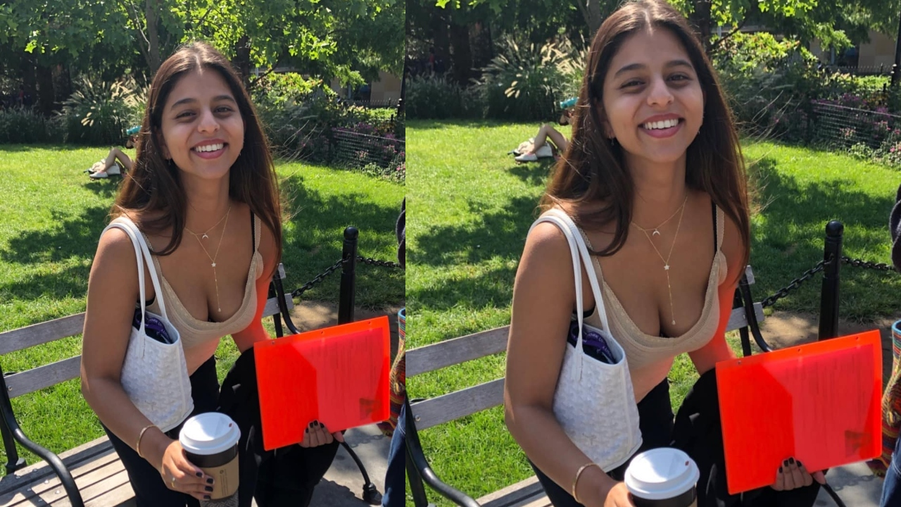 VIRAL photo: Shah Rukh Khan's daughter Suhana flashes her bright smile in New York