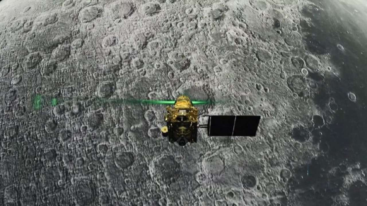 Chandrayaan-2: Vikram lander tilted, but is in 'single piece'