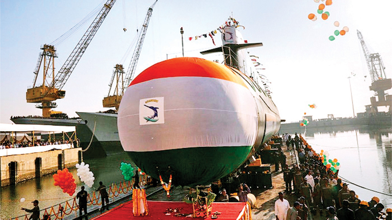 Navy's INS Khanderi attack sub to be commissioned on Sept 28