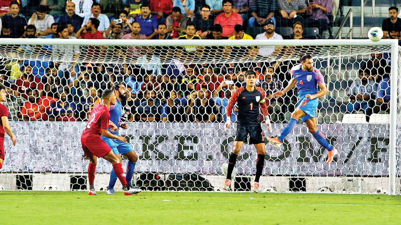 2022 World Cup qualifiers: Fighting India keep Qatar at bay to secure honourable goalless draw
