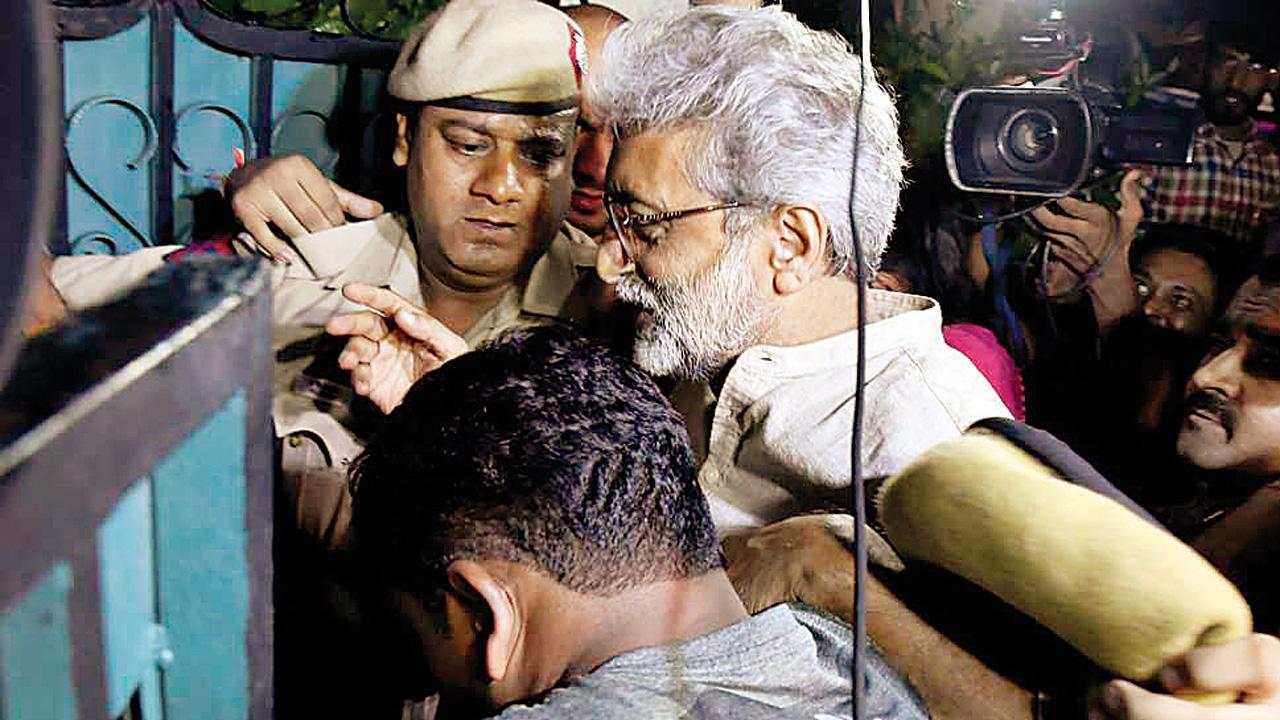 Bombay High Court finds 'material', junks Gautam Navlakha's plea for relief