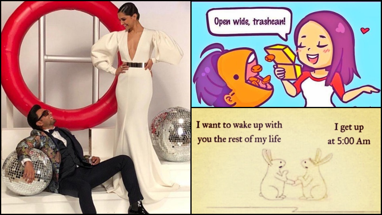 Deepika Padukone sums up her relationship with Ranveer Singh with hilarious memes and he can't agree more