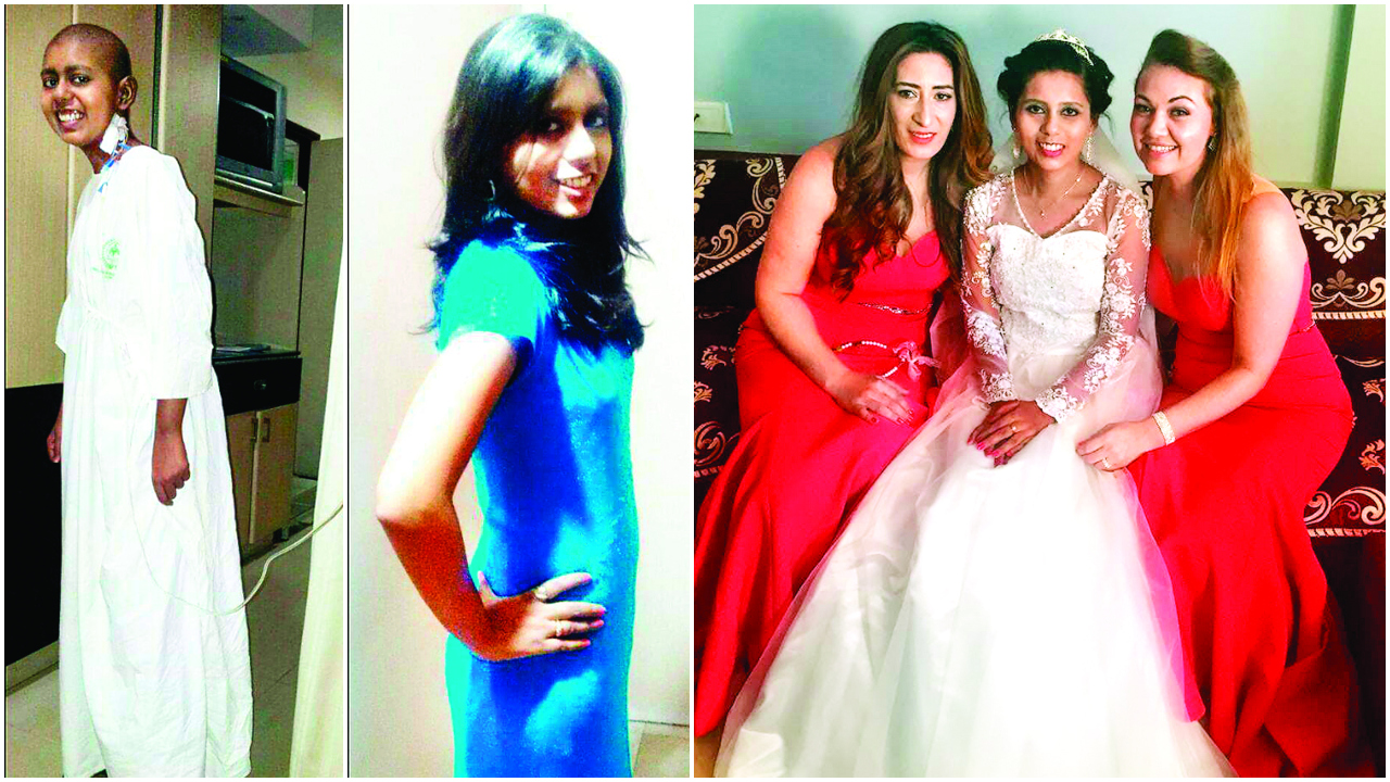 Bone marrow donor from Germany becomes recipient's maid of honour